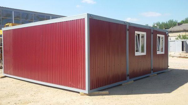 Блок-контейнер 7000x2450x2450