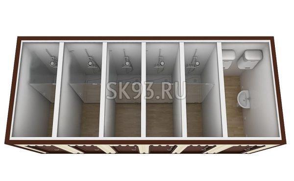 Санитарный блок СБ9