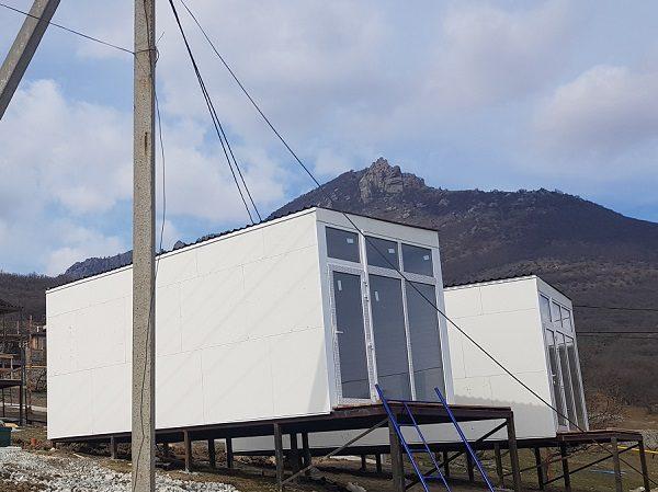 Дачный дом 8000×3000х3000