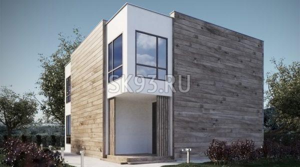 Дом с зонированием