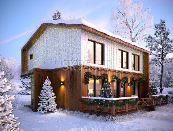 Дом для семьи из 4 человек