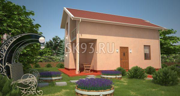 Двухэтажный дом с идеальной планировкой
