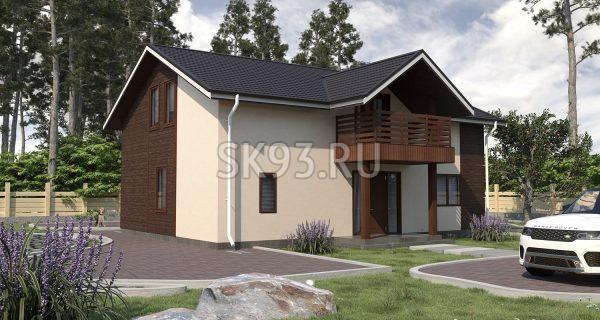 Двухэтажный комфортный дом