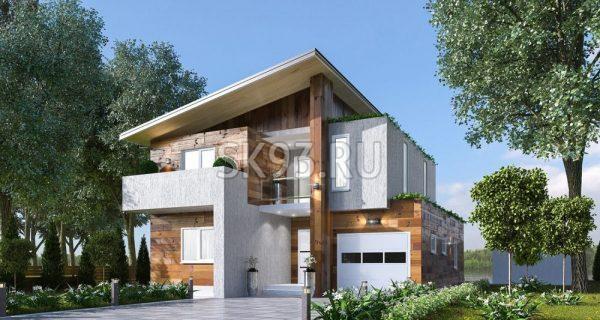 Дом в стиле Contemporary