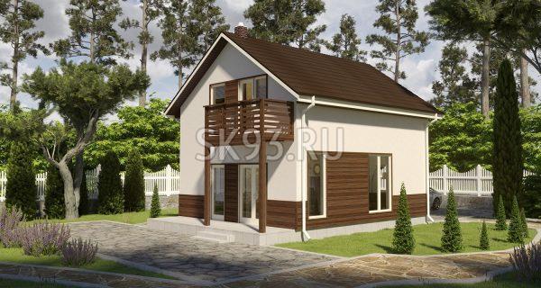 Двухэтажный уютный дом
