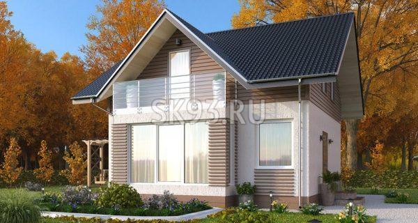 Классический двухэтажный дом