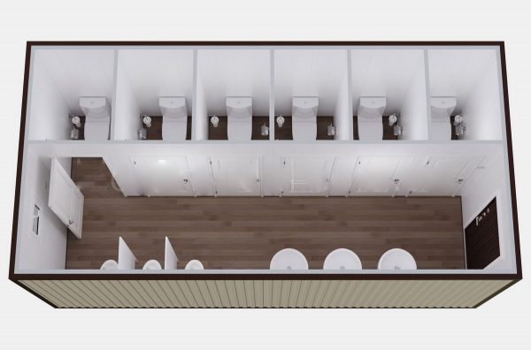 Туалетный модуль СБТ10