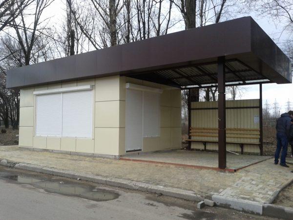Остановочный комплекс от 17 000 за кв.м.